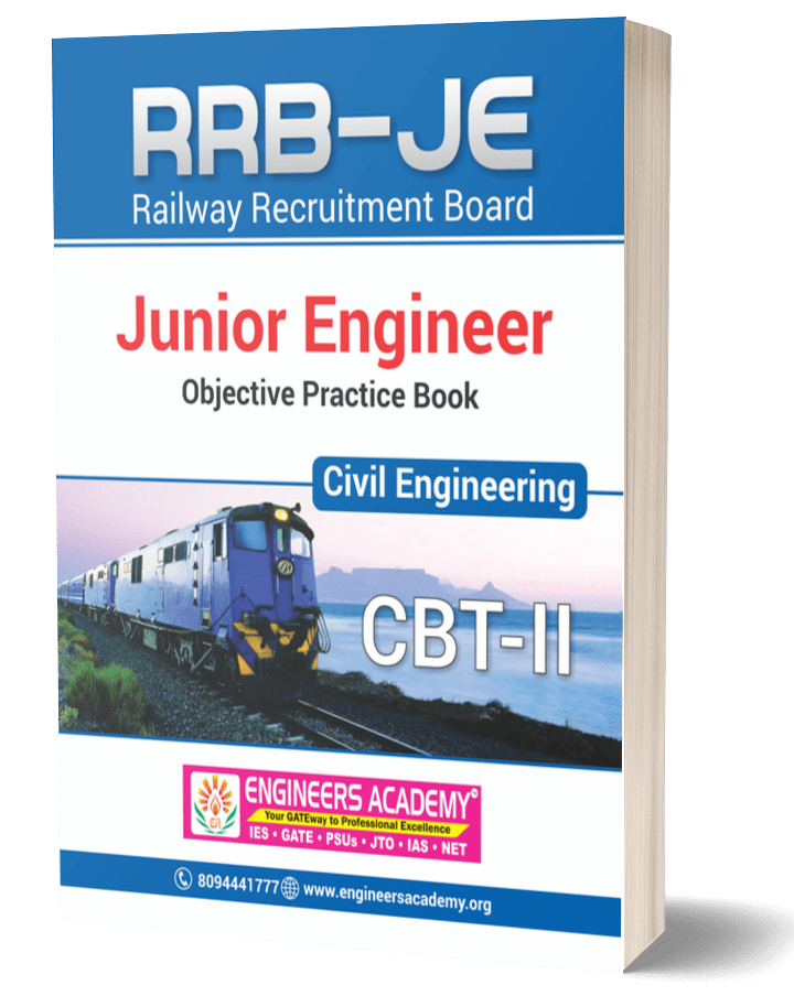 RRB-JE Civil Engineering CBT-II