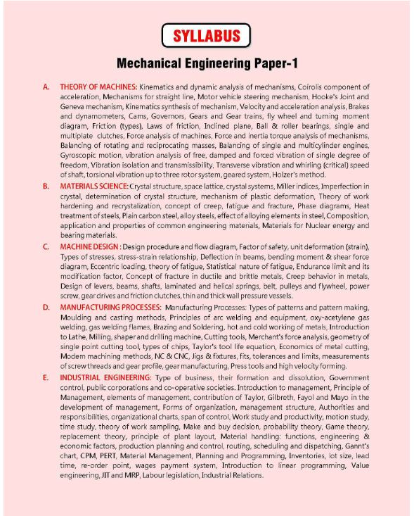 AE/JE Conv. Practice-Mechanical Engineering