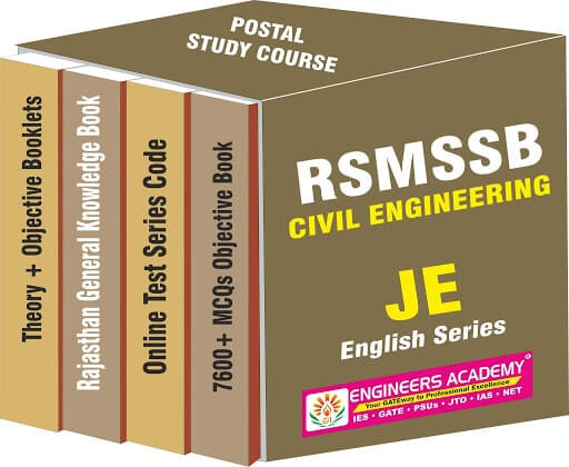RSMSSB-Rajasthan JE: English (CE)