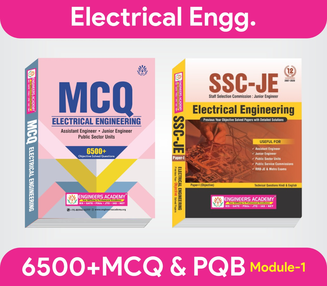 SSC JE-Electrical Engineering-English Series