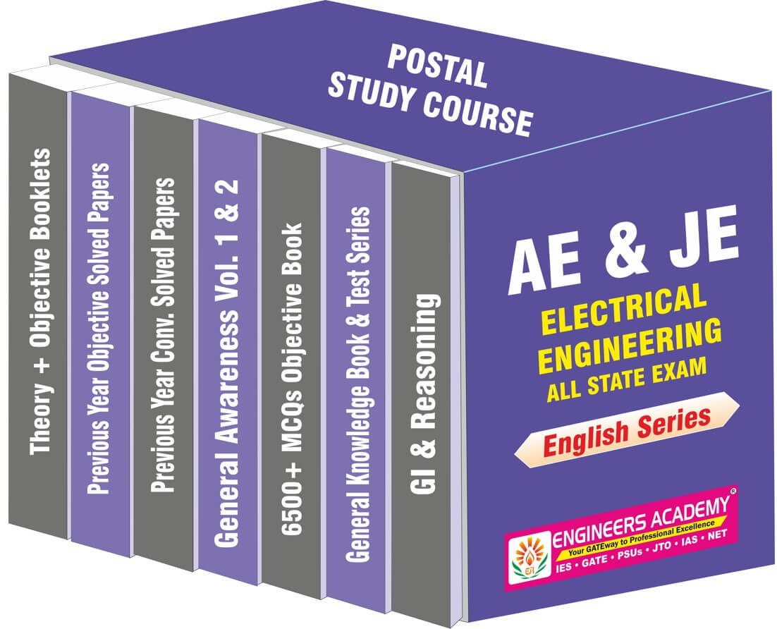AE & JE Electrical Engineering Postal Study Course-English Series